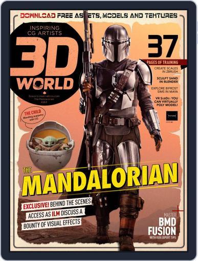 3D World Magazine (Digital) September 1st, 2020 Issue Cover