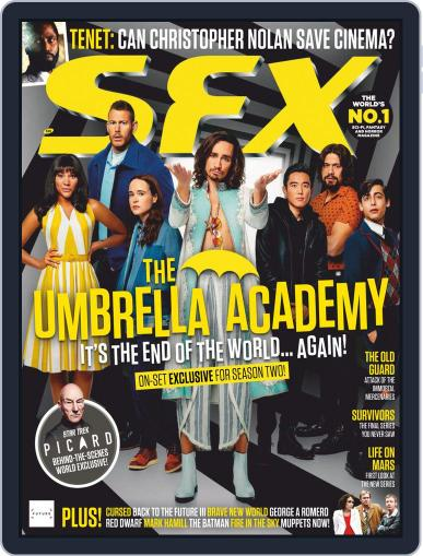SFX Magazine (Digital) August 1st, 2020 Issue Cover