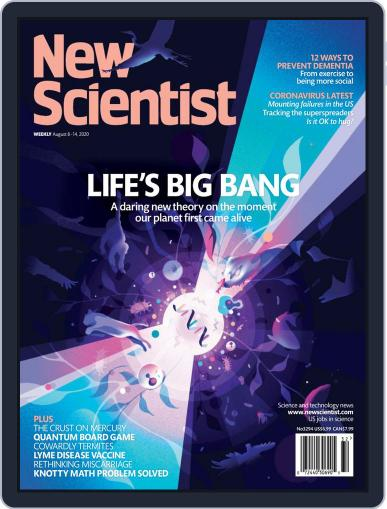 New Scientist Magazine (Digital) August 8th, 2020 Issue Cover