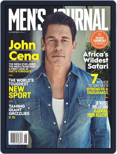 Men's Journal Magazine (Digital) May 1st, 2020 Issue Cover