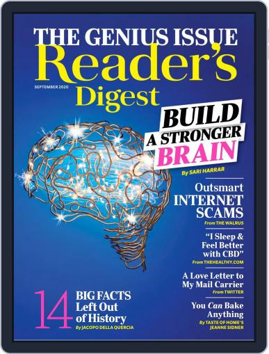 Reader's Digest Magazine (Digital) September 1st, 2020 Issue Cover