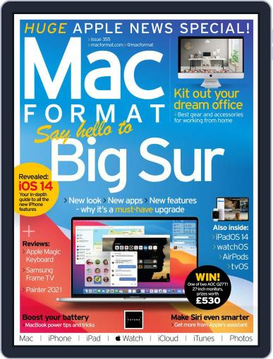 MacFormat Magazine (Digital) September 1st, 2020 Issue Cover