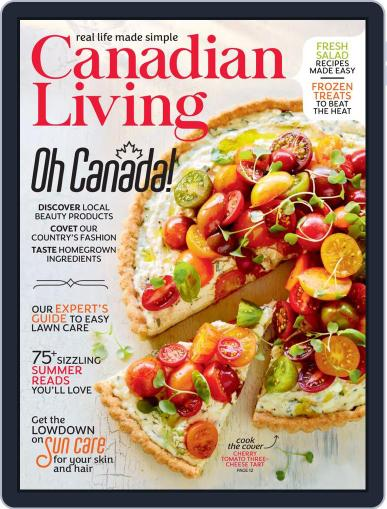 Canadian Living Magazine (Digital) July 1st, 2020 Issue Cover