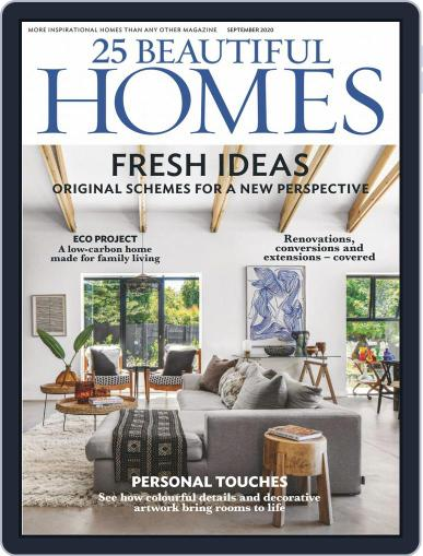 25 Beautiful Homes Magazine (Digital) September 1st, 2020 Issue Cover