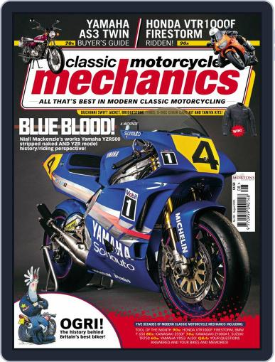Classic Motorcycle Mechanics Magazine (Digital) August 1st, 2020 Issue Cover