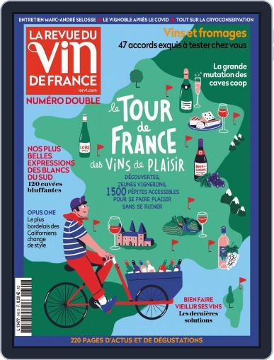 La Revue Du Vin De France Magazine (Digital) June 1st, 2020 Issue Cover