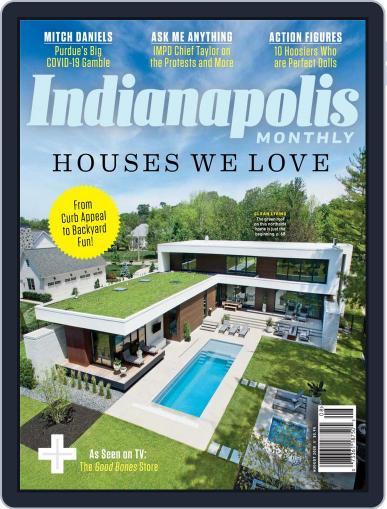 Indianapolis Monthly Magazine (Digital) August 1st, 2020 Issue Cover