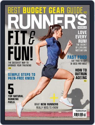 Runner's World UK Magazine (Digital) September 1st, 2020 Issue Cover
