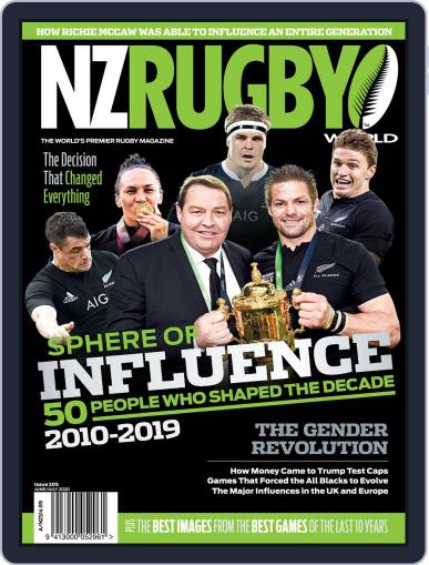 NZ Rugby World Magazine (Digital) June 1st, 2020 Issue Cover