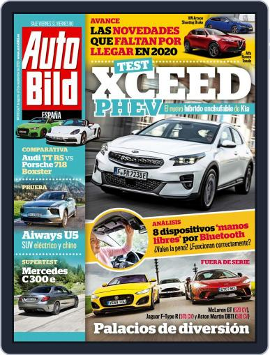 Auto Bild Es Magazine (Digital) August 7th, 2020 Issue Cover