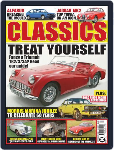 Classics Monthly Magazine (Digital) September 1st, 2020 Issue Cover