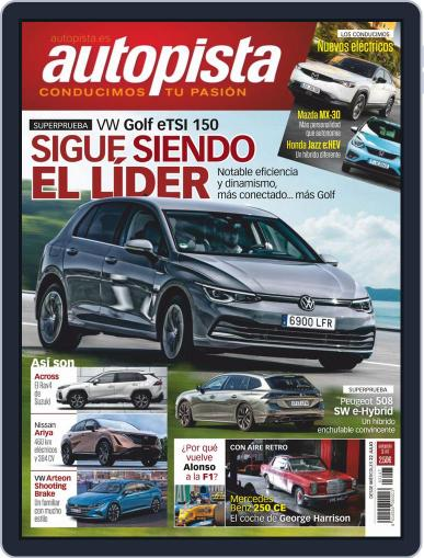 Autopista Magazine (Digital) July 22nd, 2020 Issue Cover
