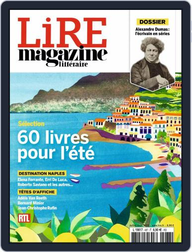 Lire Magazine (Digital) July 1st, 2020 Issue Cover