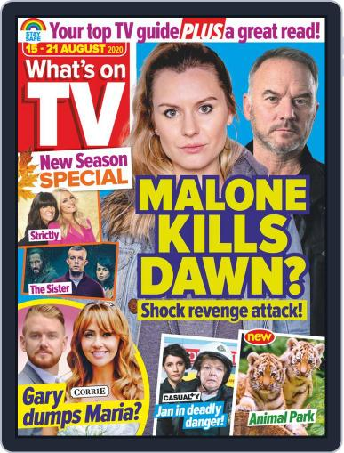What's on TV Magazine (Digital) August 15th, 2020 Issue Cover