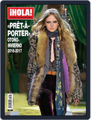 ¡hola! Prêt-À-porter Magazine (Digital) September 1st, 2016 Issue Cover