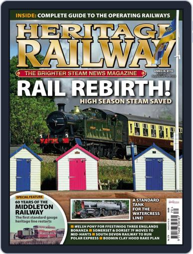 Heritage Railway Magazine (Digital) August 1st, 2020 Issue Cover