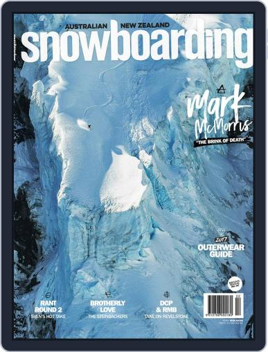 Australian NZ Snowboarding (Digital) July 1st, 2017 Issue Cover