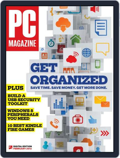 Pc Magazine (Digital) January 18th, 2013 Issue Cover