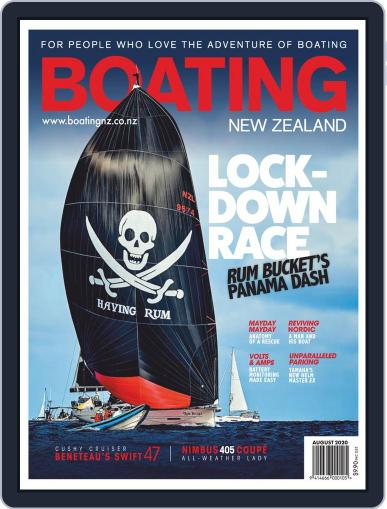 Boating NZ Magazine (Digital) August 1st, 2020 Issue Cover