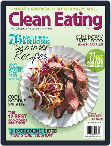 Clean Eating Magazine (Digital) May 13th, 2014 Issue Cover