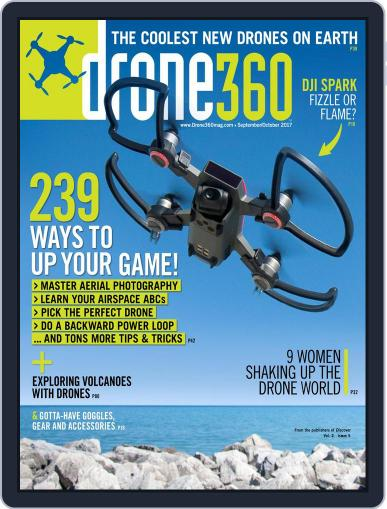 Drone 360 (Digital) October 1st, 2017 Issue Cover