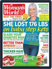 Woman's World Magazine (Digital) Subscription August 3rd, 2020 Issue