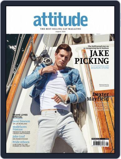 Attitude Magazine (Digital) August 1st, 2020 Issue Cover