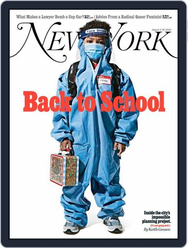 New York Magazine (Digital) August 3rd, 2020 Issue Cover