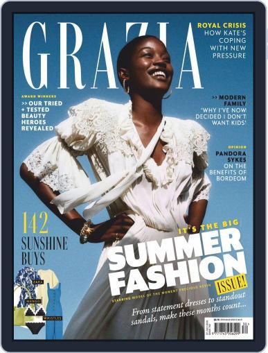 Grazia Magazine (Digital) July 27th, 2020 Issue Cover