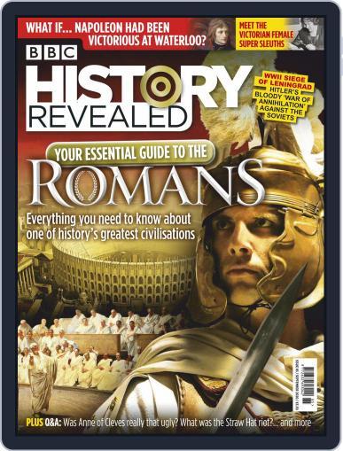 History Revealed Magazine (Digital) September 1st, 2020 Issue Cover