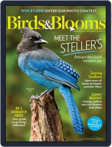 Birds & Blooms Magazine (Digital) August 1st, 2020 Issue Cover