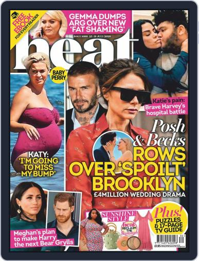 Heat Magazine (Digital) July 25th, 2020 Issue Cover
