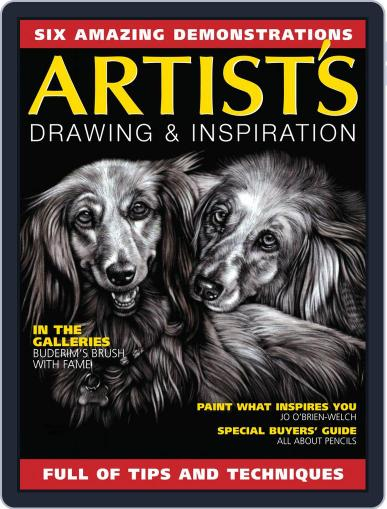 Artists Drawing and Inspiration Magazine (Digital) June 1st, 2020 Issue Cover