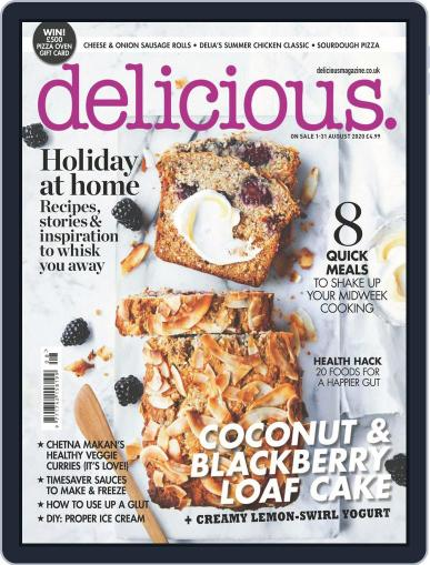 Delicious UK Magazine (Digital) August 1st, 2020 Issue Cover