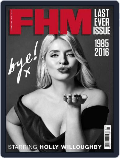 Fhm (Digital) January 7th, 2016 Issue Cover