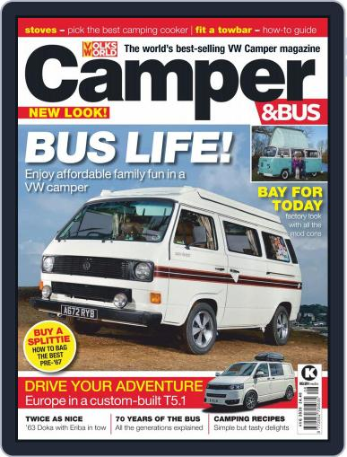 VW Camper & Bus Magazine (Digital) August 1st, 2020 Issue Cover