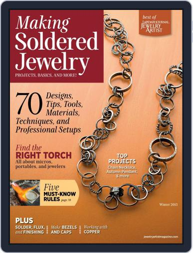 How To Solder Jewelry (Digital) November 3rd, 2014 Issue Cover