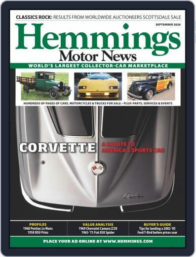 Hemmings Motor News Magazine (Digital) September 1st, 2020 Issue Cover