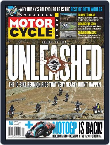 Australian Motorcycle News Magazine (Digital) July 30th, 2020 Issue Cover