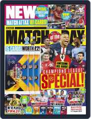 Match Of The Day Magazine (Digital) Subscription August 4th, 2020 Issue