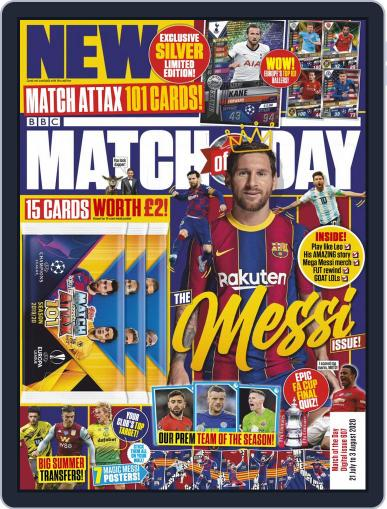 Match Of The Day Magazine (Digital) July 21st, 2020 Issue Cover