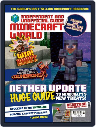 Minecraft World Magazine (Digital) July 9th, 2020 Issue Cover