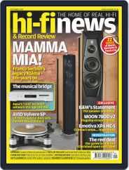 Hi Fi News Magazine (Digital) Subscription September 1st, 2020 Issue