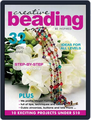 Creative Beading Magazine (Digital) August 1st, 2020 Issue Cover