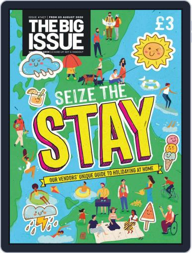 The Big Issue Magazine (Digital) August 3rd, 2020 Issue Cover