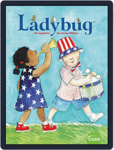 Ladybug Stories, Poems, And Songs Magazine For Young Kids And Children Magazine (Digital) July 1st, 2020 Issue Cover