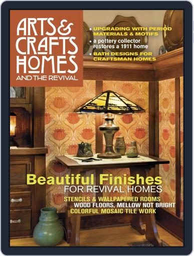 Arts & Crafts Homes (Digital) September 26th, 2017 Issue Cover