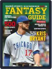 Baseball America: Fantasy Baseball (Digital) Subscription January 1st, 2017 Issue
