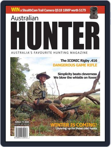 Australian Hunter Magazine (Digital) May 19th, 2020 Issue Cover