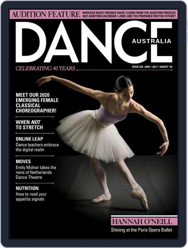 Dance Australia Magazine (Digital) June 1st, 2020 Issue Cover